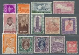 Asien: Südasien 1949 - 1978; Vorwiegend Postfrische Sammlungsteile Von Indien, U.a. Mit Mi.Nr. 187/9 - Briefmarken