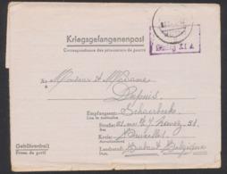 """Guerre 40-45 - Lettre """"Kriegsgefangenenpost"""" Expédié Du Stalag XI A (1942) Vers Schaerbeek / Texte - Weltkrieg 1939-45"""