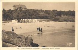 CPA Port-Manech La Plage Et La Villa Dalmore - Altri Comuni