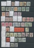 Hongkong: 1862-1977, Gestempelte Partie Auf Steckseiten Mit U.a. Einigen Besseren Stücken, Sowie Gut - Hong Kong (...-1997)