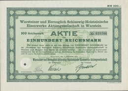 Alte Aktien / Wertpapiere: 1924-1942, Partie Von 9 Aktien Von Diversen Firmen Der Metallindustrie Un - Hist. Wertpapiere - Nonvaleurs