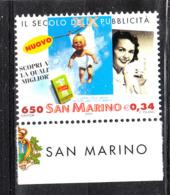 San Marino - 2000. Secolo Della Pubblicità Nelle Comunicazioni. Century Of Advertising Communications. MNH - Telecom