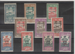 Guyane _territoire De L'Inni Taxe 1935 - Série N° 1/9A - Guyane Française (1886-1949)