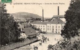"""88 -ST -ETIENNE Les REMIREMONT -- """"Usines Des Grands Moulins"""" ,édit:Descieux St-Etienne. - Saint Etienne De Remiremont"""