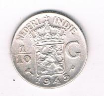 1/10 GULDEN  1945 NEDELANDS INDIE /8091/ - [ 4] Colonies