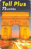Carte Prépayée - TEL PLUS  -  75 UNITES - Andere Voorafbetaalde Kaarten
