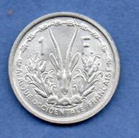 A O F --  1  Francs 1955  -  état  SPL - Colonies