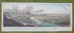 Reproduction Gravure - Vue Générale De Villes - Vue De La Ville Et Des Environs De Clèves D'après Spilman Et Beyer, 1745 - Estampes & Gravures