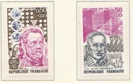 PIA - FRANCIA  - 1973 : Personaggi Celebri - Sovrattassa A Favore Della Croce Rossa - (YV  1768-69) - Primo Soccorso