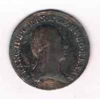 1 KREUZER 1800 S    OOSTENRIJK /8096/ - Austria