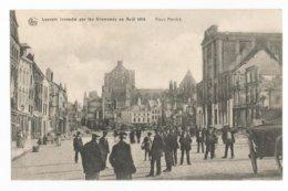 Leuven WW1 Augustus 1914 PK Louvain Vieux Marché CPA - Leuven