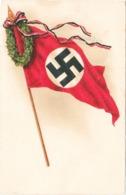 """III. Reich, Propagandakarte """" Flagge """" Stempel - Wien - Guerre 1939-45"""