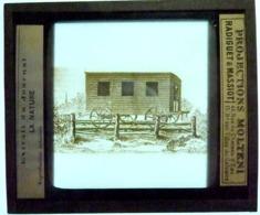 LE PREMIER WAGON DE CHEMIN DE FER 1825 - Glass Slides