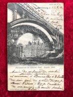 Luxembourg  Decintrement Du Nouveau Pont 1902 - Luxemburg - Town
