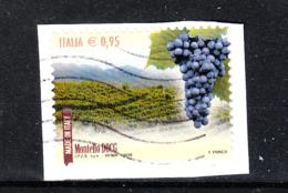 Italia   -  2016. Uva E Vino Montello . Grapes And Montello Wine. - Frutta