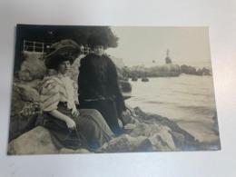 Croatia Hrvatska Austro Hungarian Monarchy Abbazia Opatija Lady Hat RPPC Real Photo 11553 Post Card Postkarte POSTCARD - Croatia