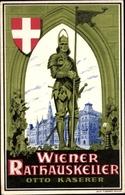 Artiste Cp Wien, Wiener Rathauskeller, Inh. Otto Kaserer - Vienne