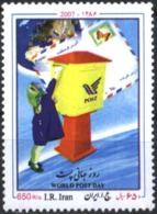 Mint Stamp World Post Day 2007  From Iran - Post