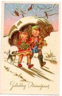 Paraplu Parapluie Umbrella Regenschirm Nieuwjaar Nouvel An New Year Neujahr Kinderen Enfants Children Kindern - New Year