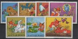 ART 79 - HONGRIE N° 2833/39 Neufs** Bande Dessinée Le Petit Renard - Unused Stamps