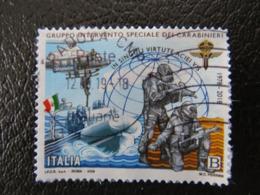 Italy, 2018, Police, Armors, Flag, - 6. 1946-.. Republic