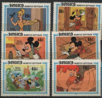 ART 81 - MONGOLIE 6 Val. Neufs** Dessins Animés Mickey - Fumetti