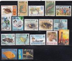 Lot 17 Used Different - Solomon Islands (1978-...)