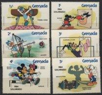 ART 82 - GRENADES 6 Val. Neufs** Dessins Animés Mickey - Fumetti