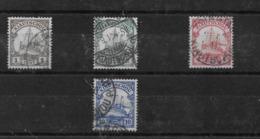 Sellos De Kiautschou Nº Michel 28I, 29, 30 Y 31 O Valor Catálogo 11.50€ - Colonie: Kiautchou