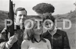 1972 HUNTER GUN RIFLE PORTUGAL AMATEUR 35mm ORIGINAL NEGATIVE Not PHOTO No FOTO - Photography