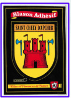 23768  CPM   SAINT CHELY D' APCHER : Blason Adhésif !! - Saint Chely D'Apcher