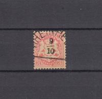 Bayern 23X Wappen 3 Kreuzer - Stempel 12a Halbkreisstempel RHEINHEIM 9.10. - Bayern