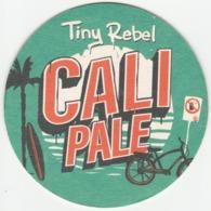 UNUSED BEERMAT - TINY REBEL BREWERY (NEWPORT WALES) - CALI PALE - (Cat 008) - (2019) - Beer Mats