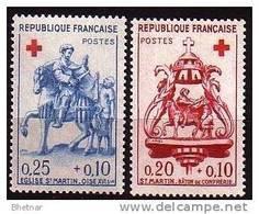 """FR YT 1278 & 1279 """" Croix Rouge """" 1960 Neuf** - France"""