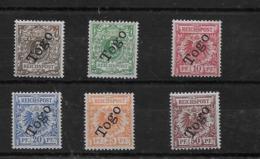Serie De Togo Nº Michel 1/6 * Valor Catálogo 117.00€ - Kolonie: Togo