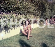 1972 FEMME GIRL BIKINI PLAGE PORTUGAL AMATEUR 35mm ORIGINAL NEGATIVE Not PHOTO No FOTO - Photography
