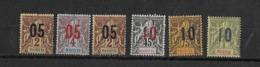Mayotte N° 21-22-28-30-31** - Mayotte (1892-2011)