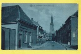 * Izegem - Iseghem * (SBP, Nr 11) Route De Coutrai, Chien, Dog, Enfant, Café In Den Hof, église, Char, TOP Unique - Izegem