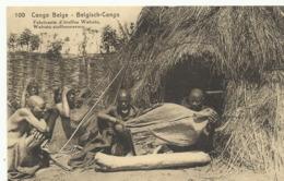Congo Belge Fabricants D'étoffes Wahutu   (2306) - Congo Belge - Autres