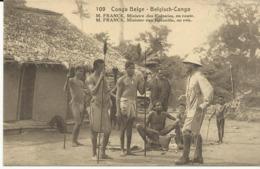 Congo Belge M.Franck Ministre Des Colonies,en Route  (2307) - Congo Belge - Autres
