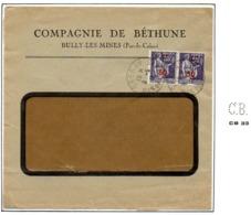 Perforé France Type Paix N° 478 Ref Ancoper CB 33 (17 Perf Connues Pour Ce Timbre) - Perforadas