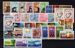 1971 Portugal Complete Year MNH Stamps. Année Compléte Timbres Neuf Sans Charnière. Ano Completo Novo Sem Charneira. - Années Complètes