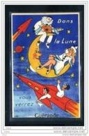 44  GUERANDE  Dans La Lune Vous Verrez Guerande .........carte Systeme Complete ! - Met Mechanische Systemen