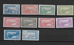 Guadeloupe N° 77 à 88** Sans Les 78 Et 85 - Guadeloupe (1884-1947)