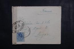 ESPAGNE - Enveloppe Pour La France Avec Contrôle Postal Militaire - L 44905 - 1889-1931 Royaume: Alphonse XIII