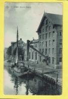 * Boom (Antwerpen - Anvers) * (SBP, Nr 15) Moulin Rijpens, Bateau, Canal, Quai, Péniche, Boat, Industrie, Molen Mill - Boom
