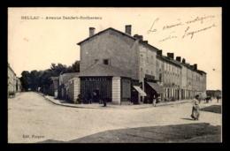 87 - BELLAC - AVENUE DENFERT-ROCHEREAU - MAGASIN L. MALITTE - Bellac