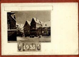 CP Illustréé Par HANSI Nuit De Noel En Alsace   Colmar 1935     Traces D'usage Sur Le Pourtour Et Taches De Rousseur - Hansi