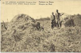 Duits Oost Afrika Dragers Ter Rust   (2319) - Congo Belge - Autres