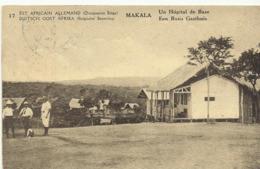 Duits Oost Afrika Een Basis Gasthuis  (2321) - Congo Belge - Autres